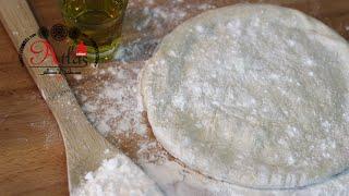 Pizzateig Grundrezept - ORIGINAL aus NEAPEL - عجينة البيتزا الطليانية الأصلية