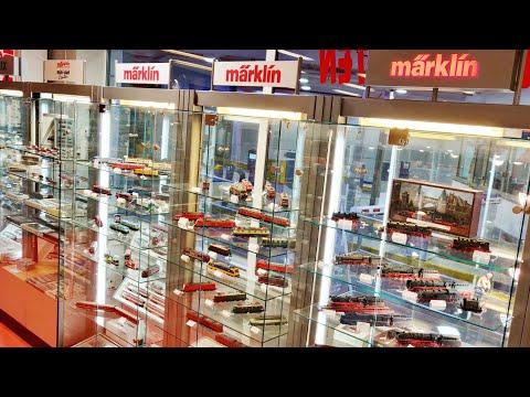 Amazing model train store in Europe‼️Märklin Roco Trix🤩 Train Diorama's🧐 Train model goldmine 👌🏻