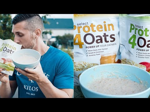 BEST High Protein Breakfast On The go | Protein Oats Made Easy