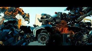 Transformers: Dark of the Moon sentinel prime kills ironhide (1080HD VO)