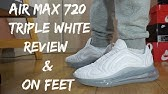 Nike Air Max 720 Pure Platinum Collage On Feet Documontary
