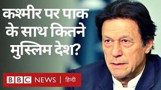 Kashmir पर क्या Muslim देशों से Pakistan के PM Imran Khan को निराशा मिली? (BBC Hindi)