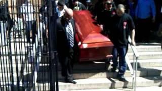 R.I.P. Hector Santiago Funeral - Church Exit