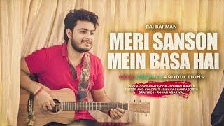 Meri Saason Mein Basa Hain - Raj Barman | Unplugged Cover | Udit Narayan