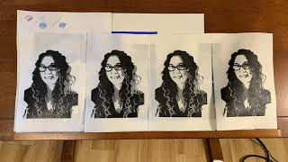 Block Printing a Self Portrait with Sara Mayman