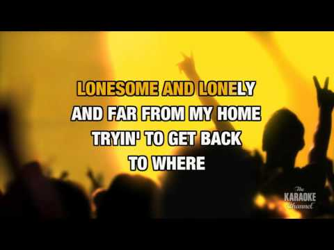 There Goes Another Love Song in the style of Outlaws | Karaoke with Lyrics