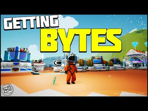 Everything UNLOCKED, Collecting More BYTES! Astroneer Update Gameplay | Z1 Gaming