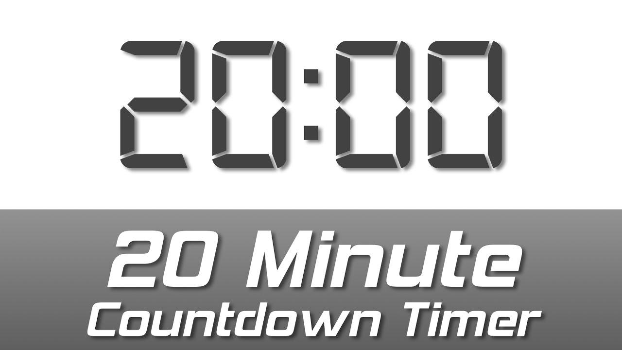20 mins bell cut-off timer