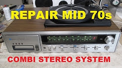 """Repair mid 70s """"all in one"""" stereo system with record changer turntable"""
