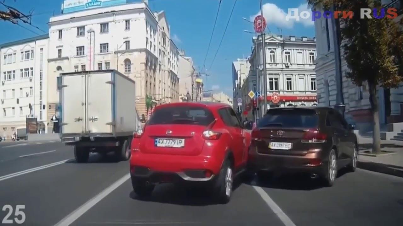Подборка ДТП и Аварий на видеорегистратор #10 Ноябрь 2017