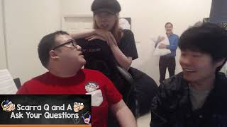 Lily interrogates Scarra and Toast #Hearthstone Clip Moment