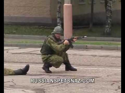Russian Spetsnaz GRU-Fighting Techniques
