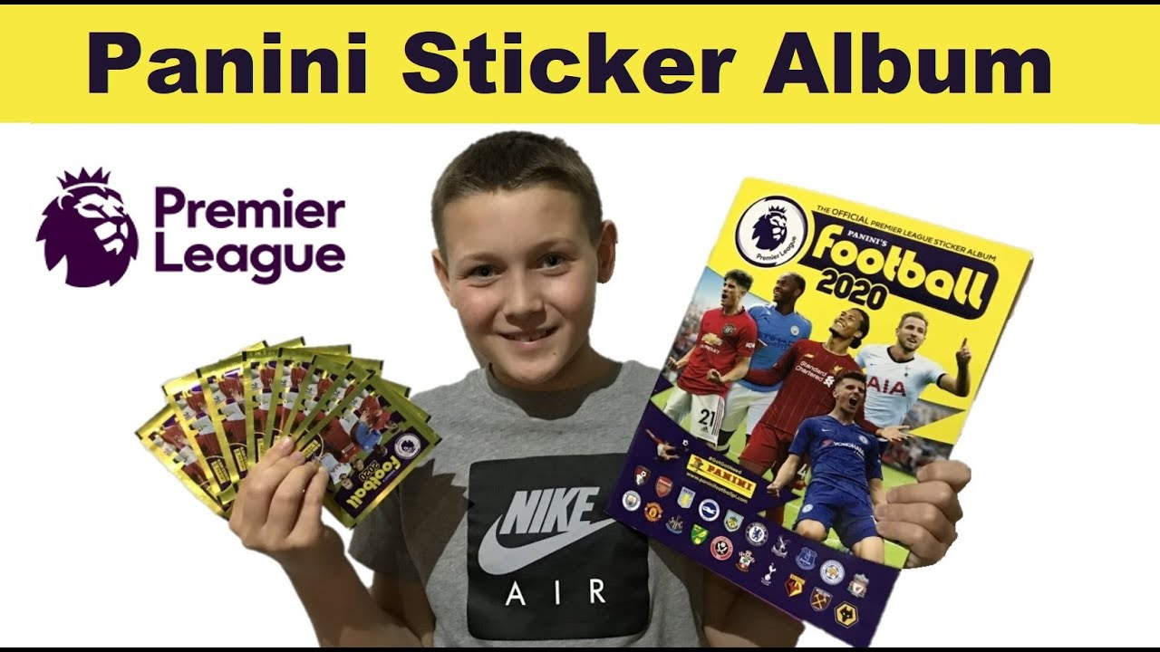 PANINI/'S FOOTBALL 2020 ENGLISH PREMIER LEAGUE STICKER PACKS 2020 ALBUM STICKERS