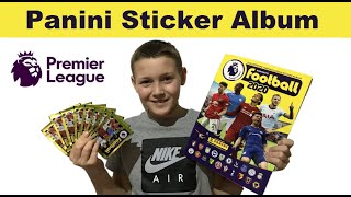 Panini Fútbol 2020 Premier League Pegatina Collection