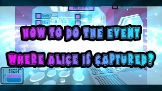 Simbro :How To Do The Event Where Alice Gets Captured ?