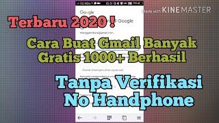 Cara Membuat 1000 Akun Gmail 2020