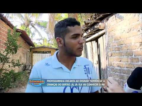 Geraldo Luis surpreende professora de 16 anos que sonha em conhecer o pai