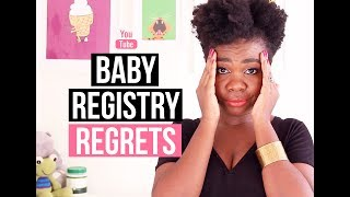 Baby Registry Regrets!   African Mommy Blogger