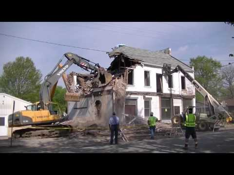 167 Year Old Building Demolished