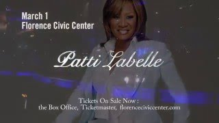 Patti LaBelle LIVE in Concert - March 1, 2016 in Florence