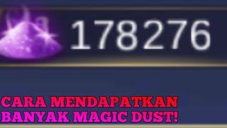 [NO ROOT] Cara mendapatkan banyak MAGIC DUST Mobile Legend