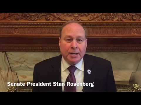 Senate Sidelines with Senate President Stan Rosenberg