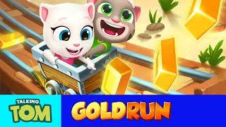 🌵🤠🌵 Wild West Chase - Talking Tom Gold Run (NEW UPDATE GAMEPLAY)