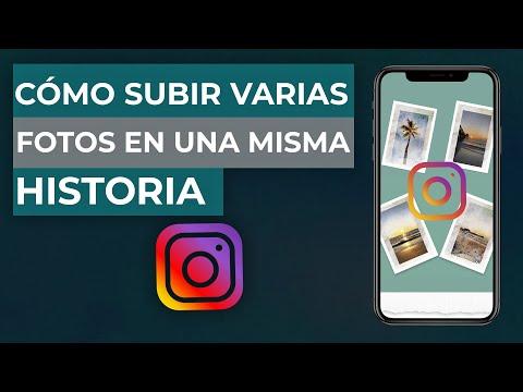 Cómo PONER o SUBIR Varias Fotos en una Misma Historia de Instagram - Instagram Stories