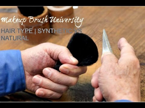 Makeup Brush University | Synthetic vs Natural Hair | Suggested Use