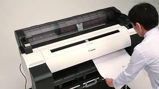 Removing jammed paper: cut sheets (TM-305/TM-5305)