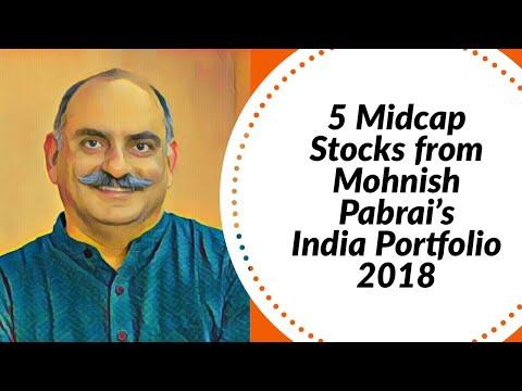5 Midcap Stocks from Mohnish Pabrai's India Portfolio 2018