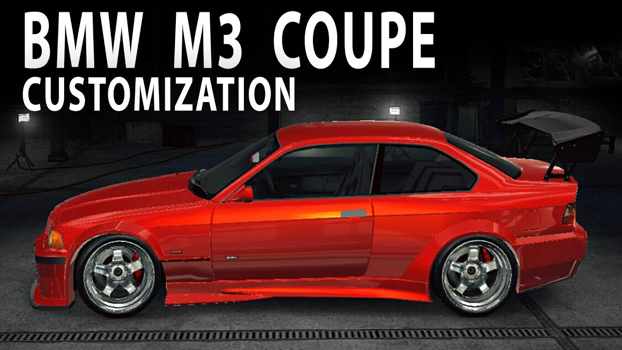 Nfs No Limits Bmw M3 Coupe Customization And Gameplay Youtube