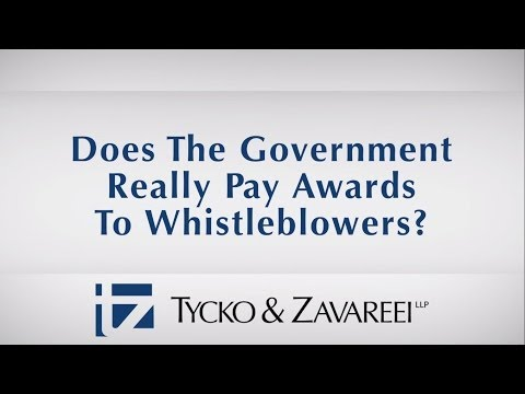 Does The Government Really Pay Awards To Whistleblowers?
