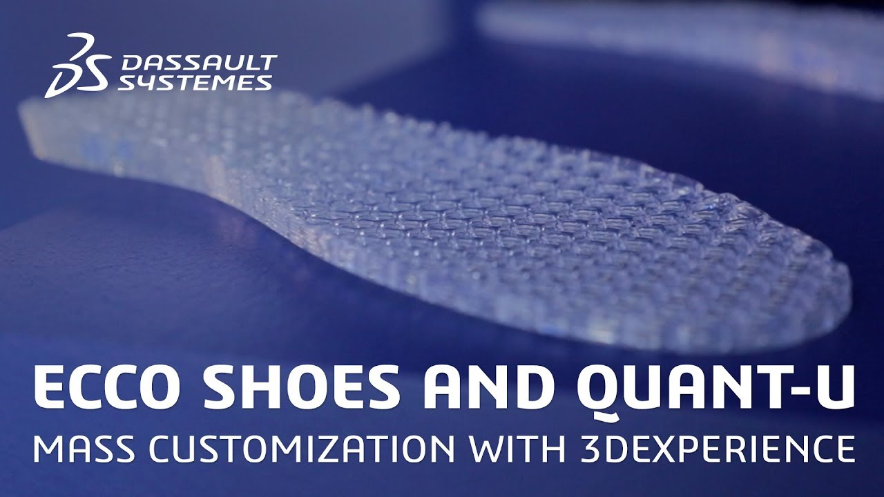 ECCO Shoes and Quant-U – Delivering mass customization with 3DEXPERIENCE – Dassault Systèmes