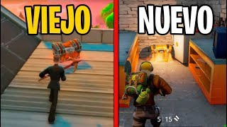 VIEJO Fortnite VS NUEVO Fortnite | Fortnite Battle Royale