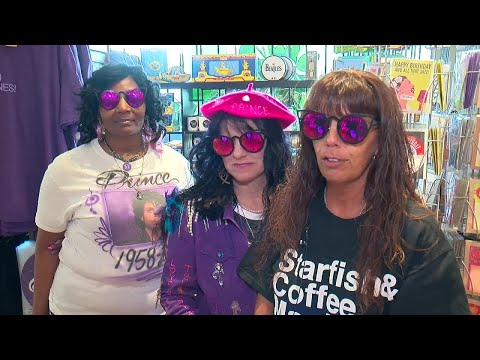 From Across The U.S., Prince Fans Congregate For 60th Birthday