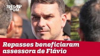 Repasses do fundo eleitoral beneficiaram assessora de Flávio Bolsonaro