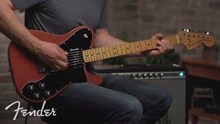 Vintera Series '70s Telecaster Deluxe | Vintera Series | Fender