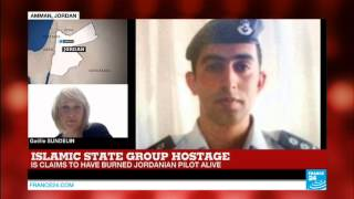 #BREAKING - IS organization claims to have burned the Jordanian pilot alive
