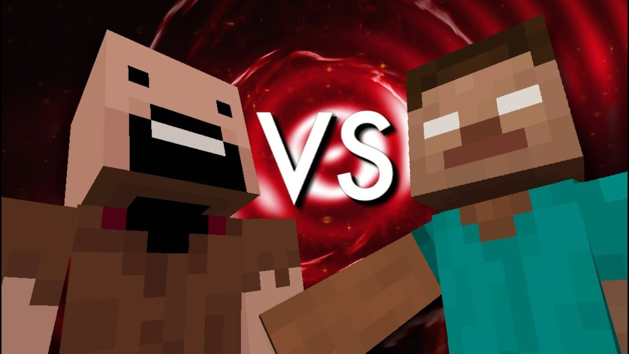 Notch vs Herobrine - The Final Minecraft Rap Battle