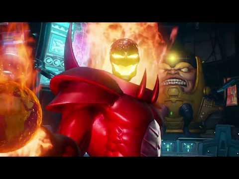 MARVEL VS. CAPCOM: INFINITE - Dormmamu & Firebrand VS Doctor Strange & Morrigan