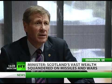 'Scottish oil wealth wasted on wars while UK artificial state exists'