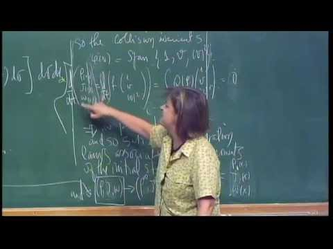 Mini Course - Analytical issues non-local multi-linear interaction models -  Irene Gamba - Class 2