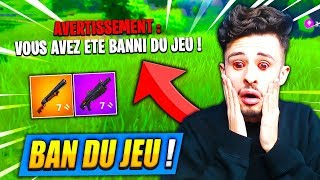FORTNITE BANNI: Battle Royale TO CAUSE THIS 'TECHNICAL EDIT' ... 😢