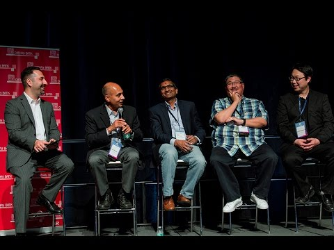"""Internet of things panel at n3xt con 2017 """"how IoT is unlocking the real economy 2.0"""""""