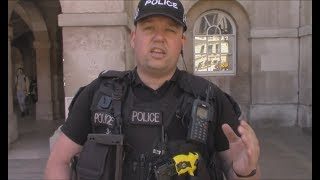 Armed Police ID FAIL at London Horse Guards
