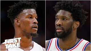 Jimmy Butler vs. Joel Embiid: Who takes their team further in the Eastern Conference? | First Take