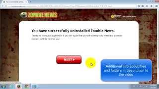 How to remove Zombie News. Zombie Threats removal guide Mp3