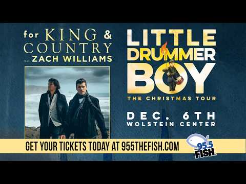 for KING & COUNTRY Little Drummer Boy | The Christmas Tour