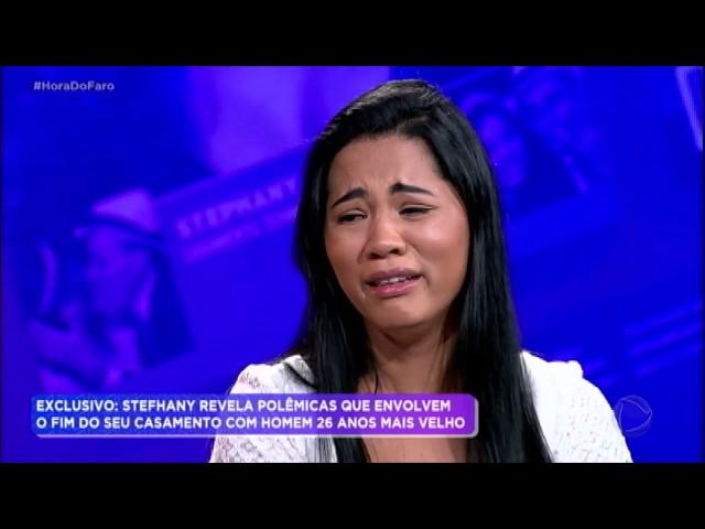 Stefhany vai às lágrimas ao revelar polêmicas sobre o fim de seu casamento
